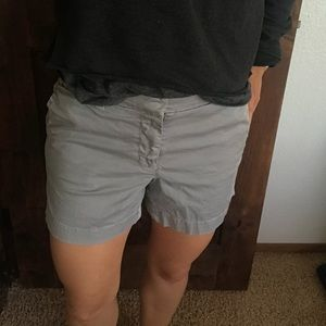 J. Crew Chino Short in Vintage Grey Wash